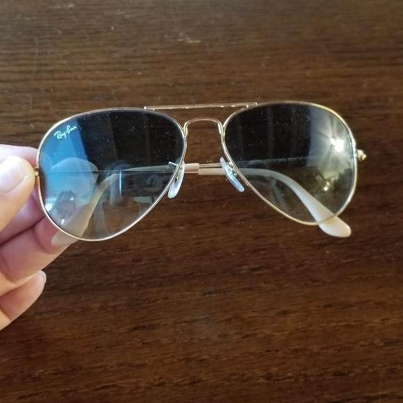 Ray Ban Aviator Luxottica sunglasses